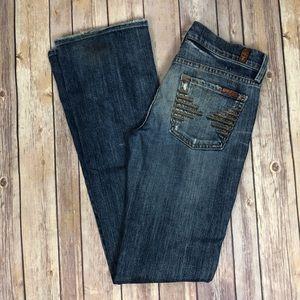 7FAMK Colette Straight leg jeans